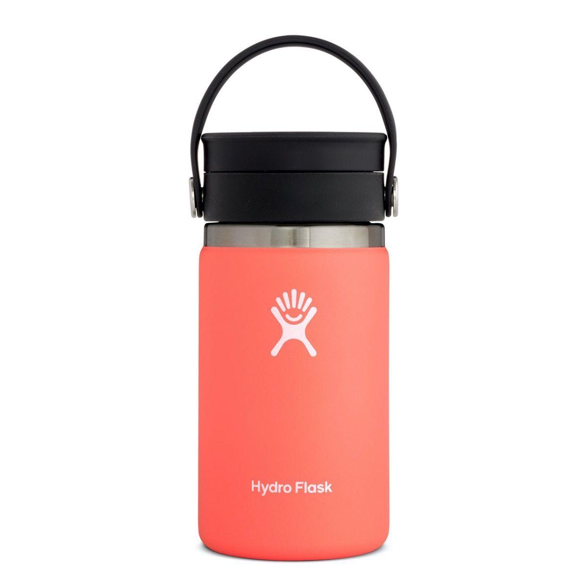 Produktbild von Hydro Flask 12 oz Wide Mouth Coffee Kaffeebecher mit Flex Sip Deckel - 354 ml - Hibiscus