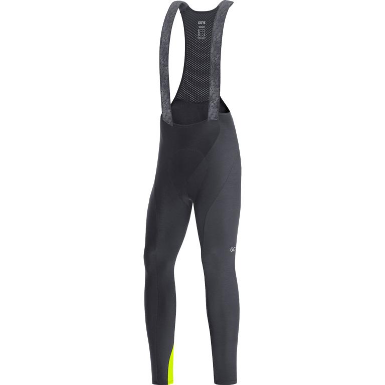 GORE Wear C3 Thermo Culotte+ con tirantes 100648 - black/neon yellow 9908