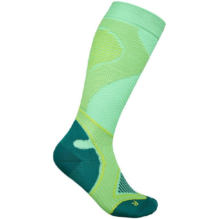 Bauerfeind Outdoor Performance Compression Socks Women - green