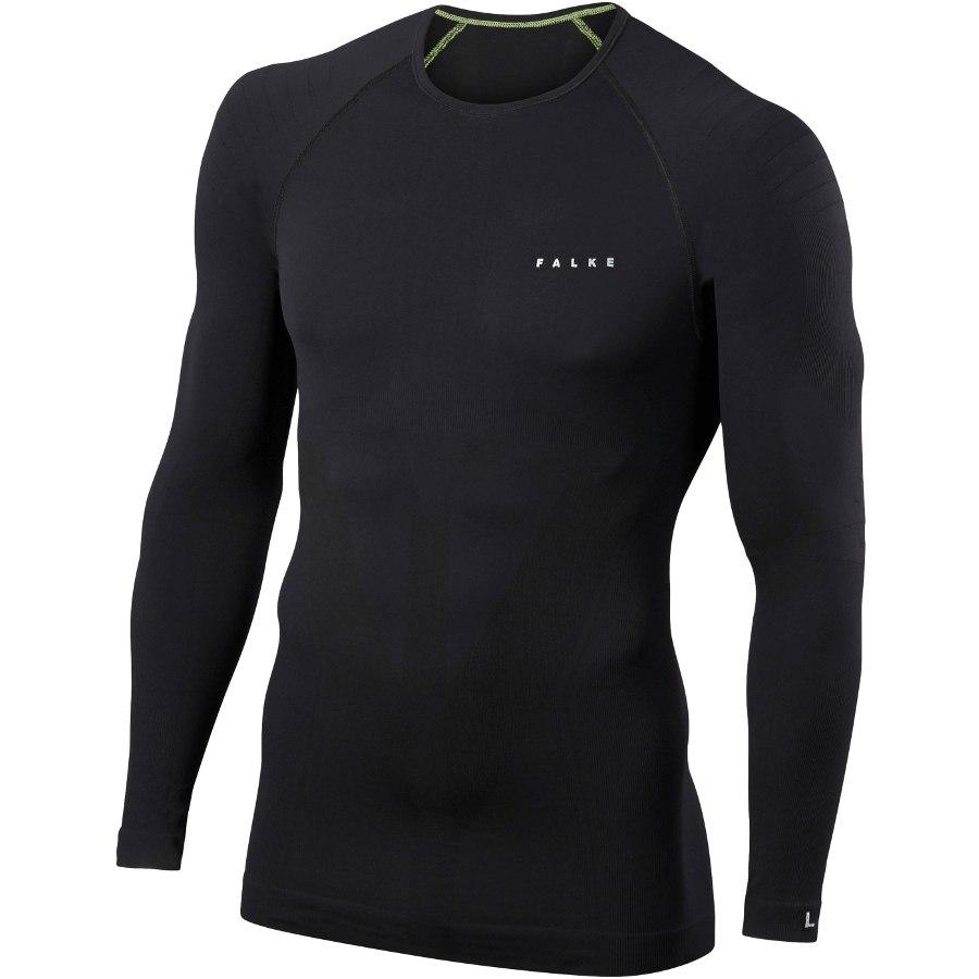 Falke Long Sleeved Shirt Warm - black 3000