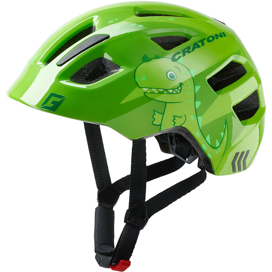 CRATONI Maxster Helmet - dino green glossy