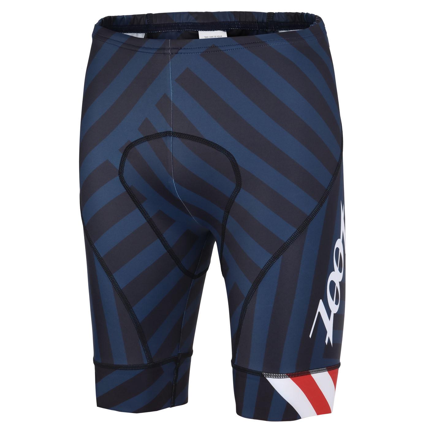 ZOOT LTD Pantalones cortos para bicicleta de carretera para hombres - riviera