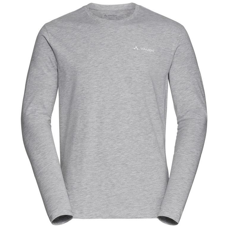 Vaude Men's Brand LS Shirt - grey/melange
