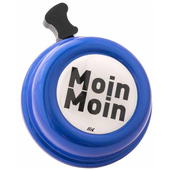Liix Colour Bell Fahrradklingel - Moin Moin Cobalt Metallic