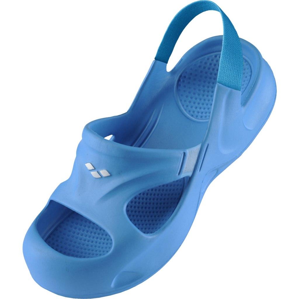 Foto de arena Softy Kids Hook Sandals - turquoise-eolian