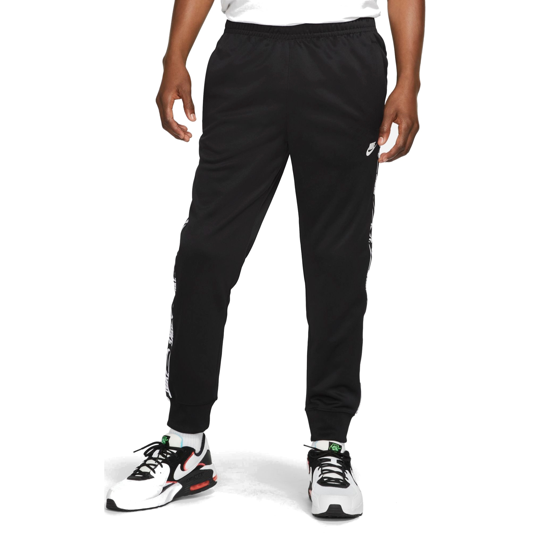 Produktbild von Nike Sportswear Herren-Jogginghose - black/black/white DM4673-010