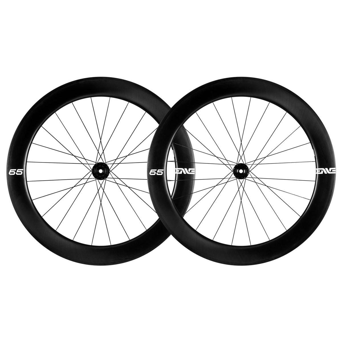 ENVE Foundation 65 Carbon Wheelset - Clincher - Centerlock - FW: 12x100mm | RW: 12x142mm - SRAM XDR