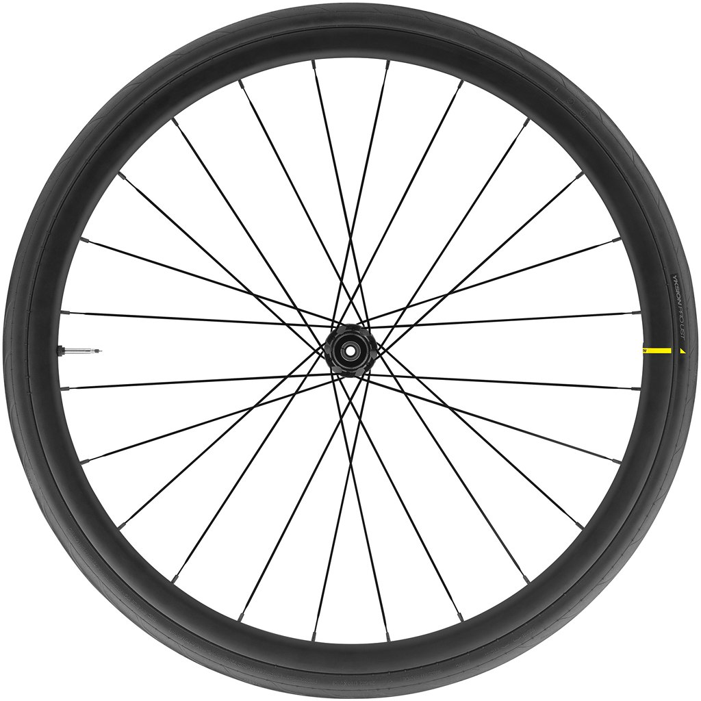 Image of Mavic Cosmic Elite UST Disc WTS Rear Wheel with Yksion Pro UST Folding Tire - Centerlock - 12x142mm/QR