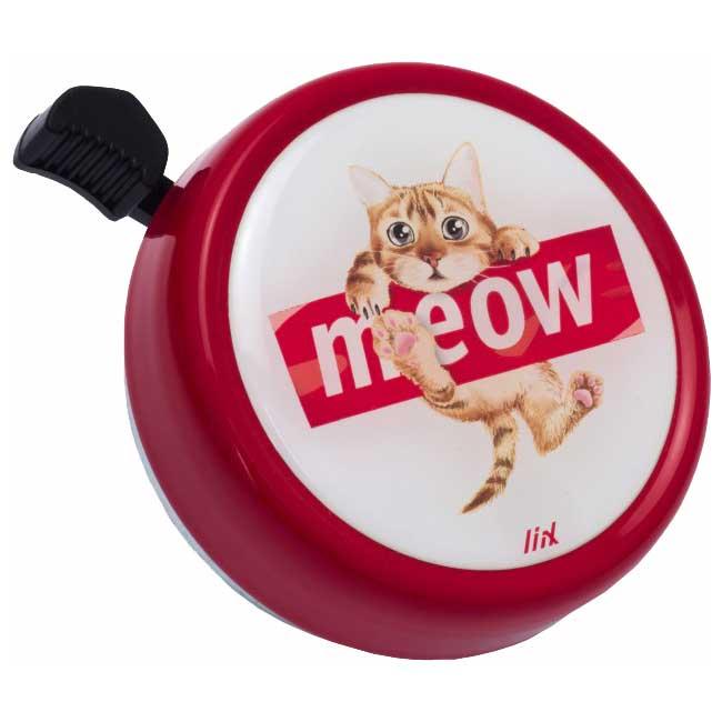 Liix Big Colour Bell Fahrradklingel - Meow Red
