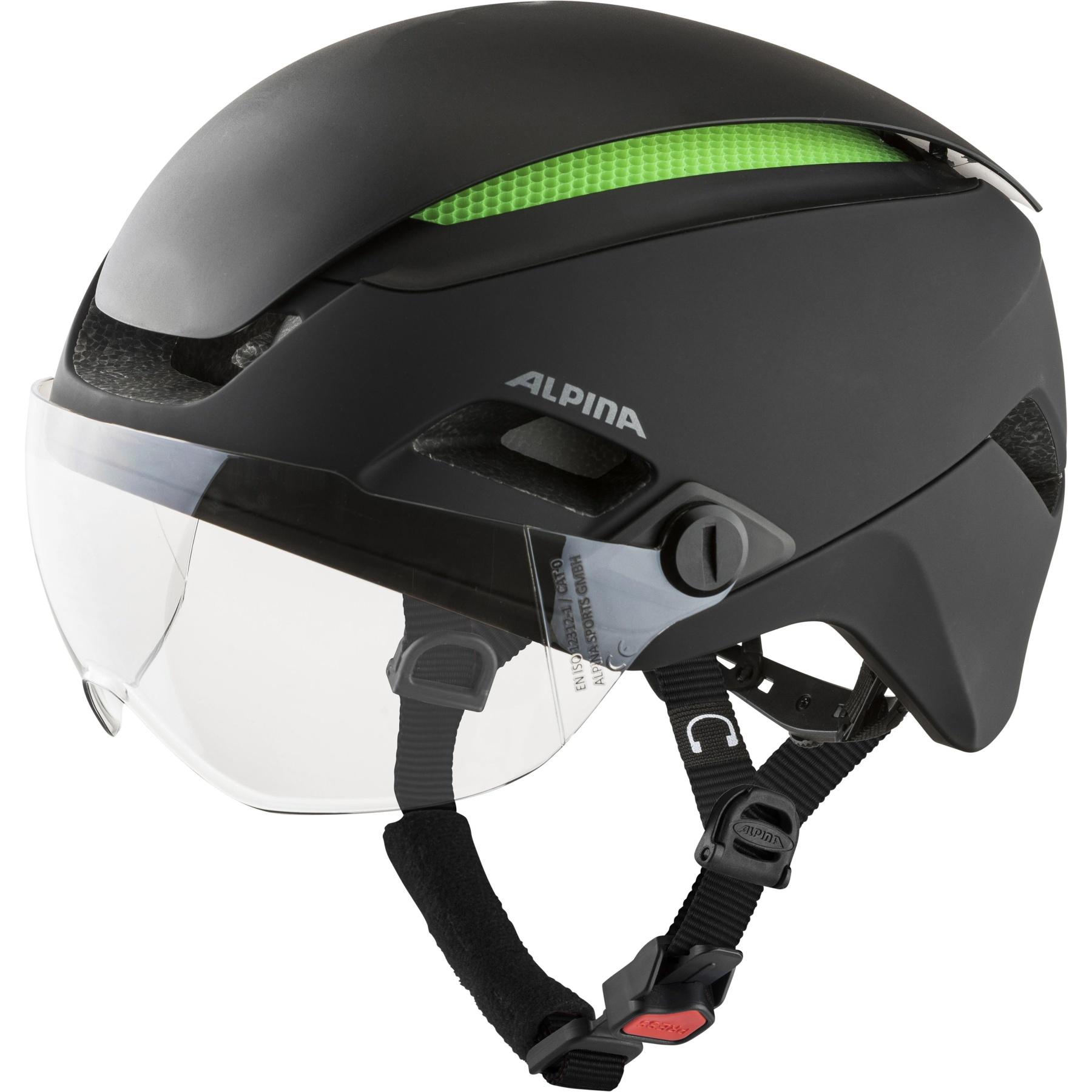 Alpina Altona M Helmet - black matt