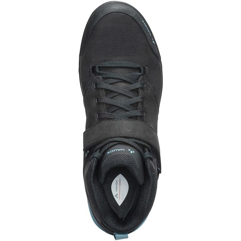Image of Vaude AM Moab Mid STX All-Mountain Flat Pedal Shoes - phantom black
