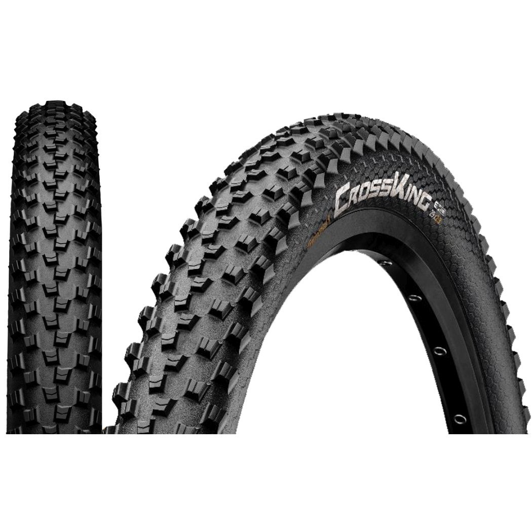 Image of Continental Cross King ShieldWall MTB Folding Tire 29x2.6 Inch - black