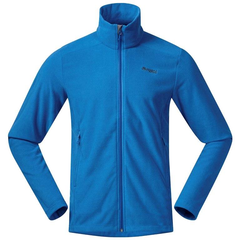 Produktbild von Bergans Finnsnes Fleece Jacke - athens blue