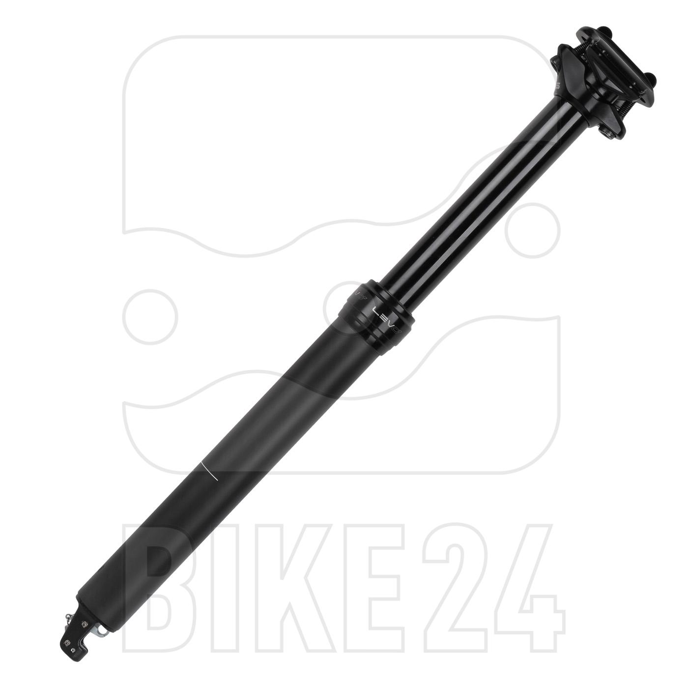 Picture of KS LEV CI 31.6 Remote Carbon Dropper Seatpost - 440mm I Range: 150mm