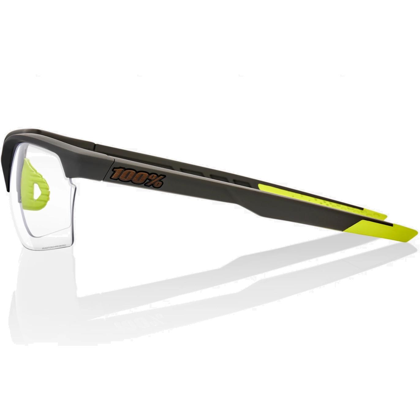 Imagen de 100% Sportcoupe Photochromic lens Gafas - Soft Tact Cool Grey