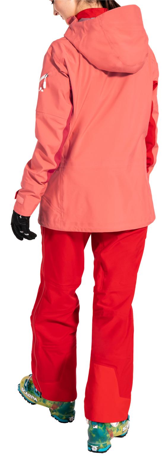 Bild von Vaude Back Bowl 3L Jacke III Damen - pink canary