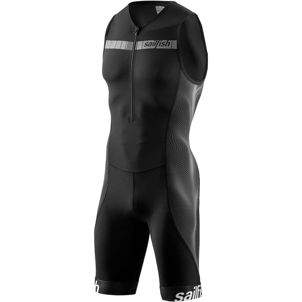 Produktbild von sailfish Herren Trisuit Comp Triathlonanzug 2021 - schwarz/grau
