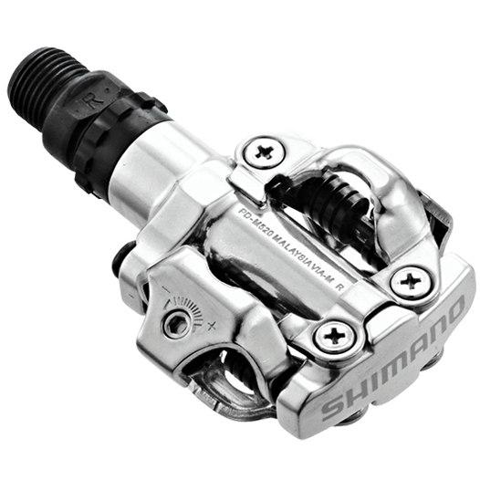 Shimano PD-M520 SPD Pedal - silver