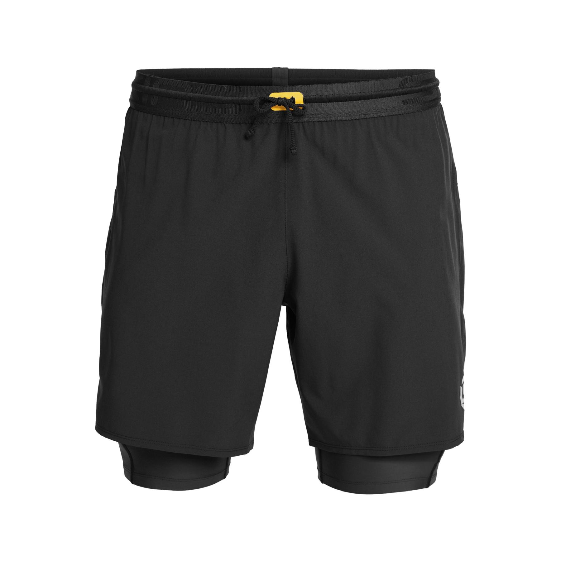 SKINS Compression 3-Series Superpose Shorts - Black