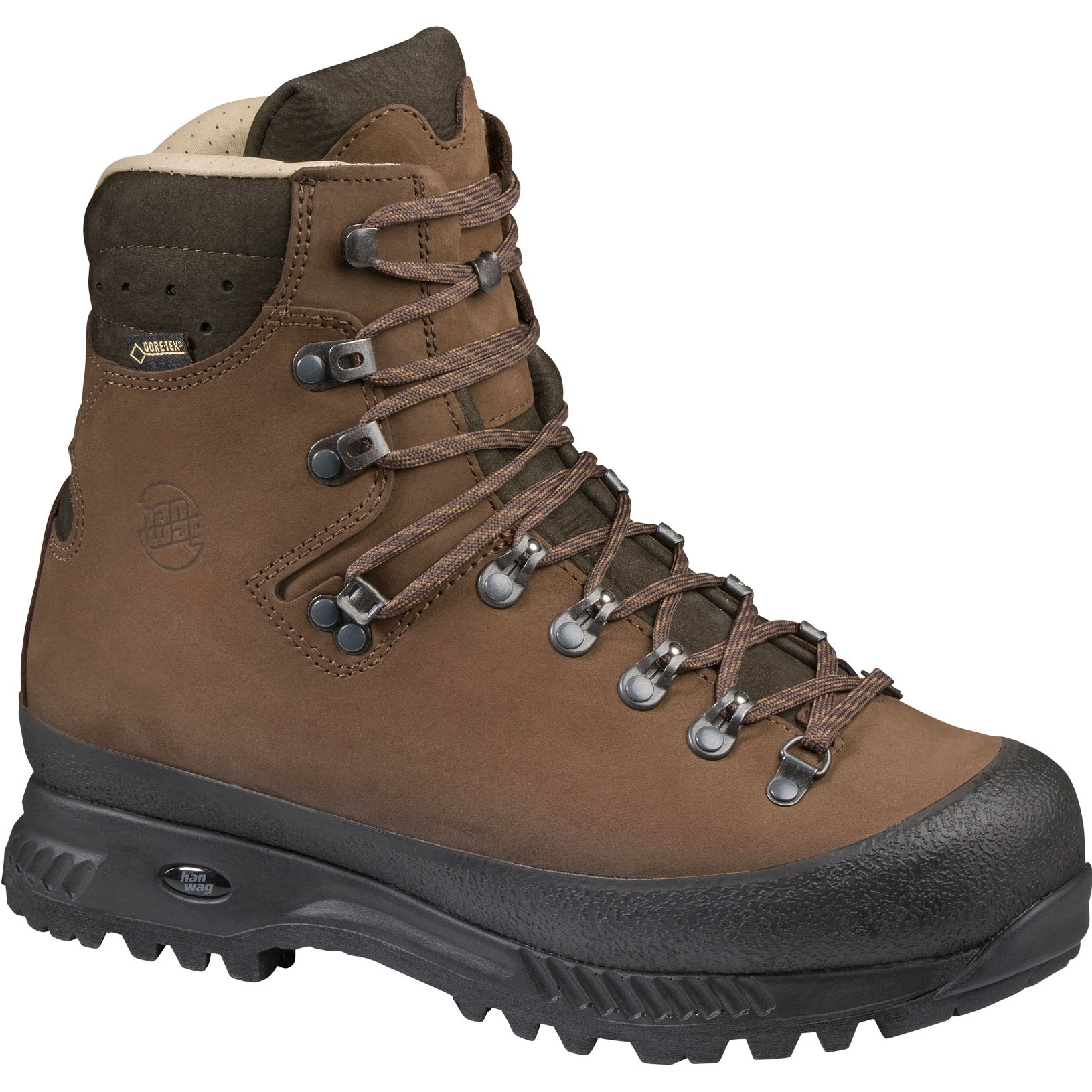 Hanwag Alaska Wide GTX Shoe - Brown