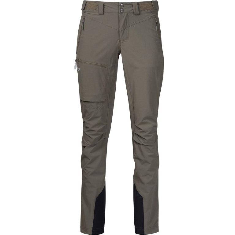 Bergans Breheimen Softshell Women's Pants - Green Mud/Alu