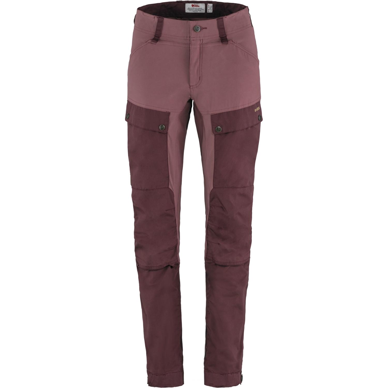 Fjällräven Keb Trousers Damenhose - Regular - port-mesa purple
