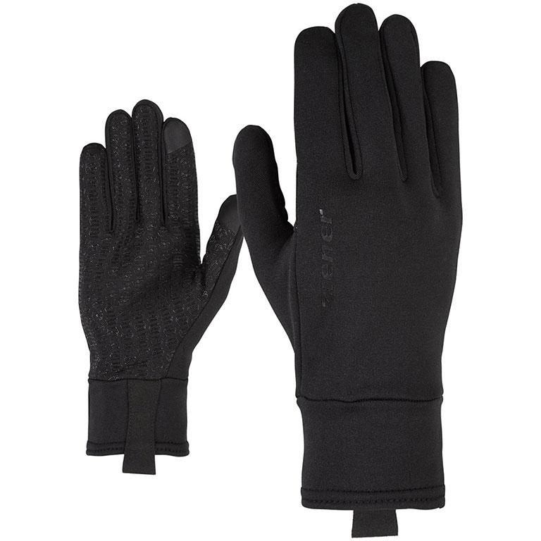 Ziener Disanto Touch Bike Gloves - black