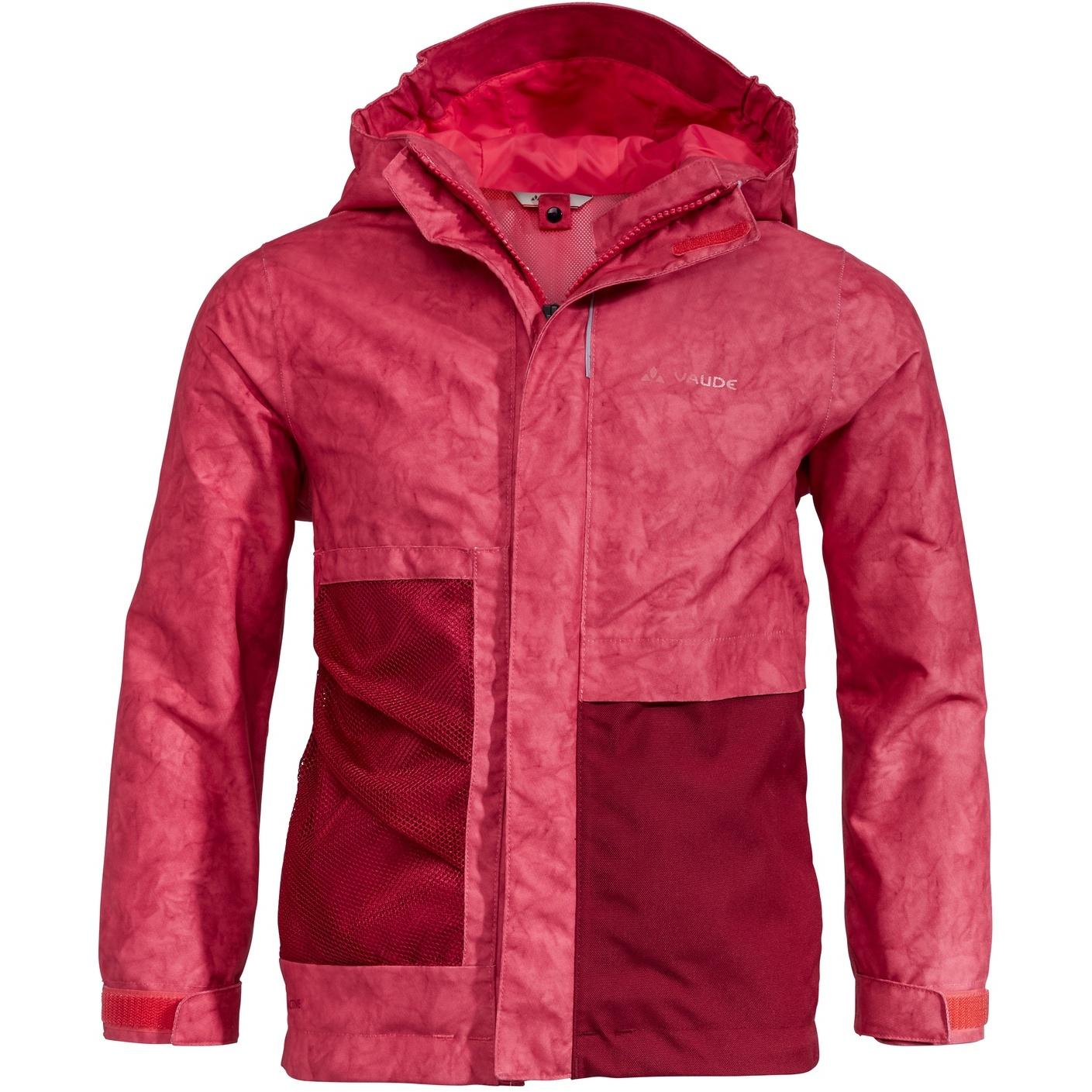 Vaude Kids Faunus 2L Jacke - bright pink