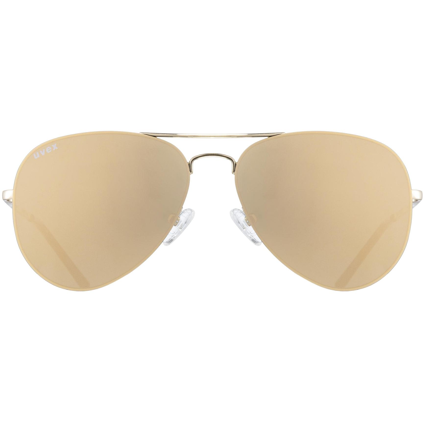 Image of Uvex lgl 45 Glasses - gold/miror gold