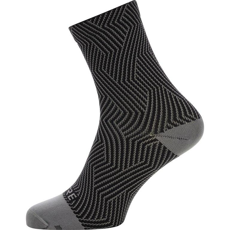 GORE Wear C3 Optiline Mid Socks - graphite grey/black 9199