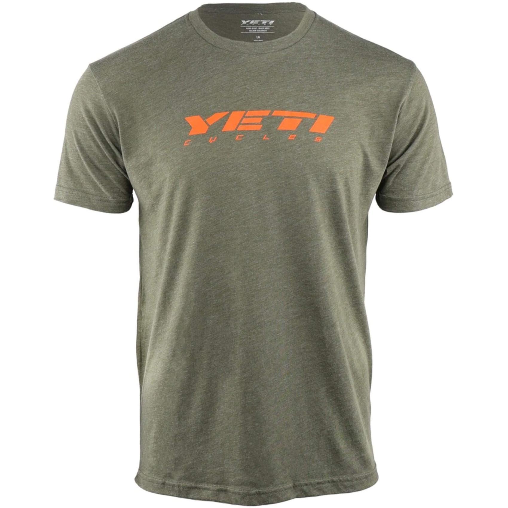 Bild von Yeti Cycles Slant T-Shirt - Army Green