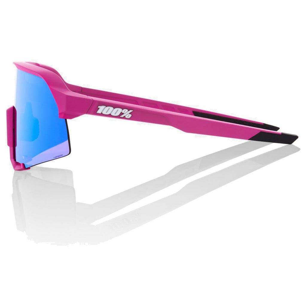 Image of 100% S3 HiPER Multilayer Mirror Lens Glasses - Matte Pink