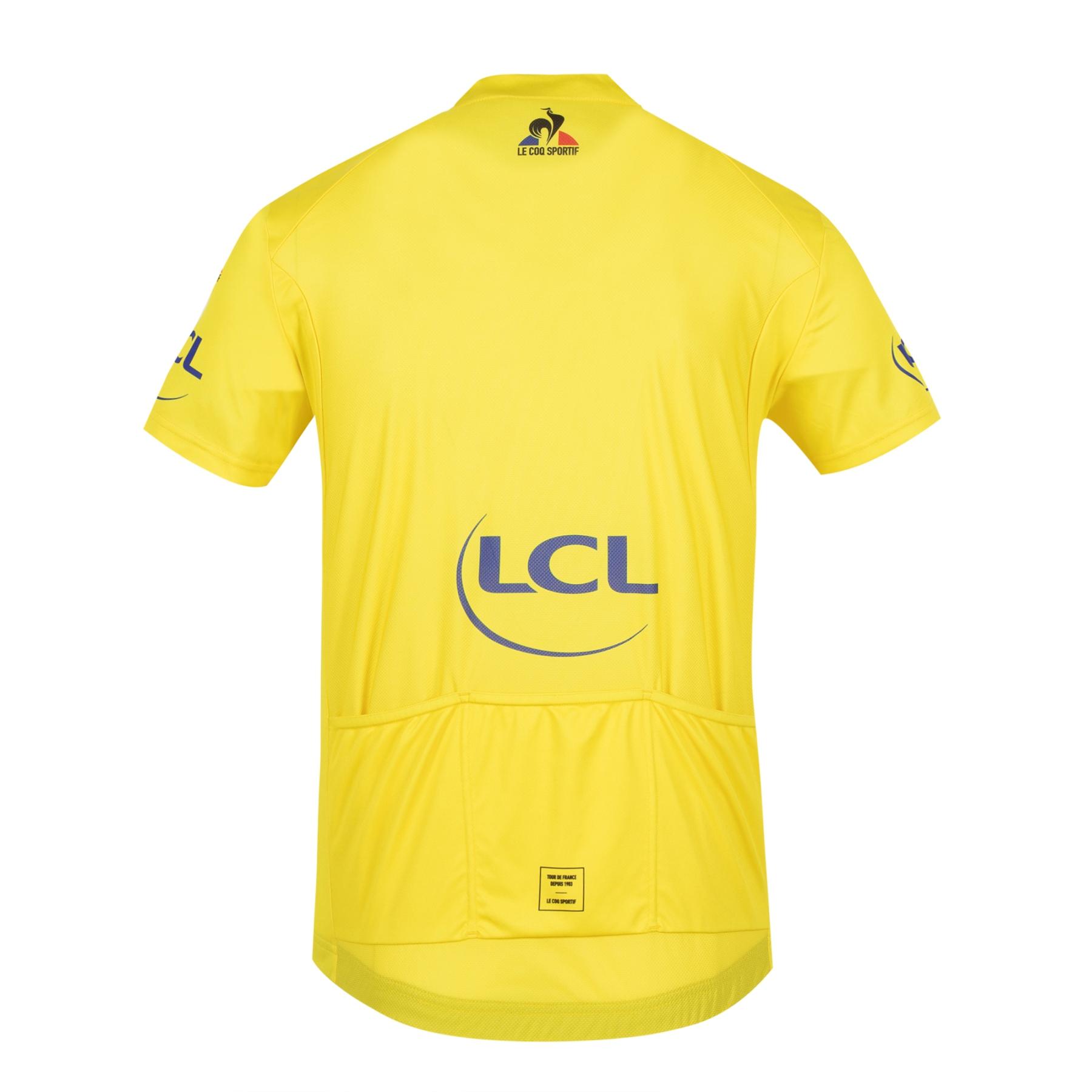 Bild von Le Coq Sportif Tour de France™ 2021 Collection Replica Kurzarm-Trikot - Gelb - Ziel