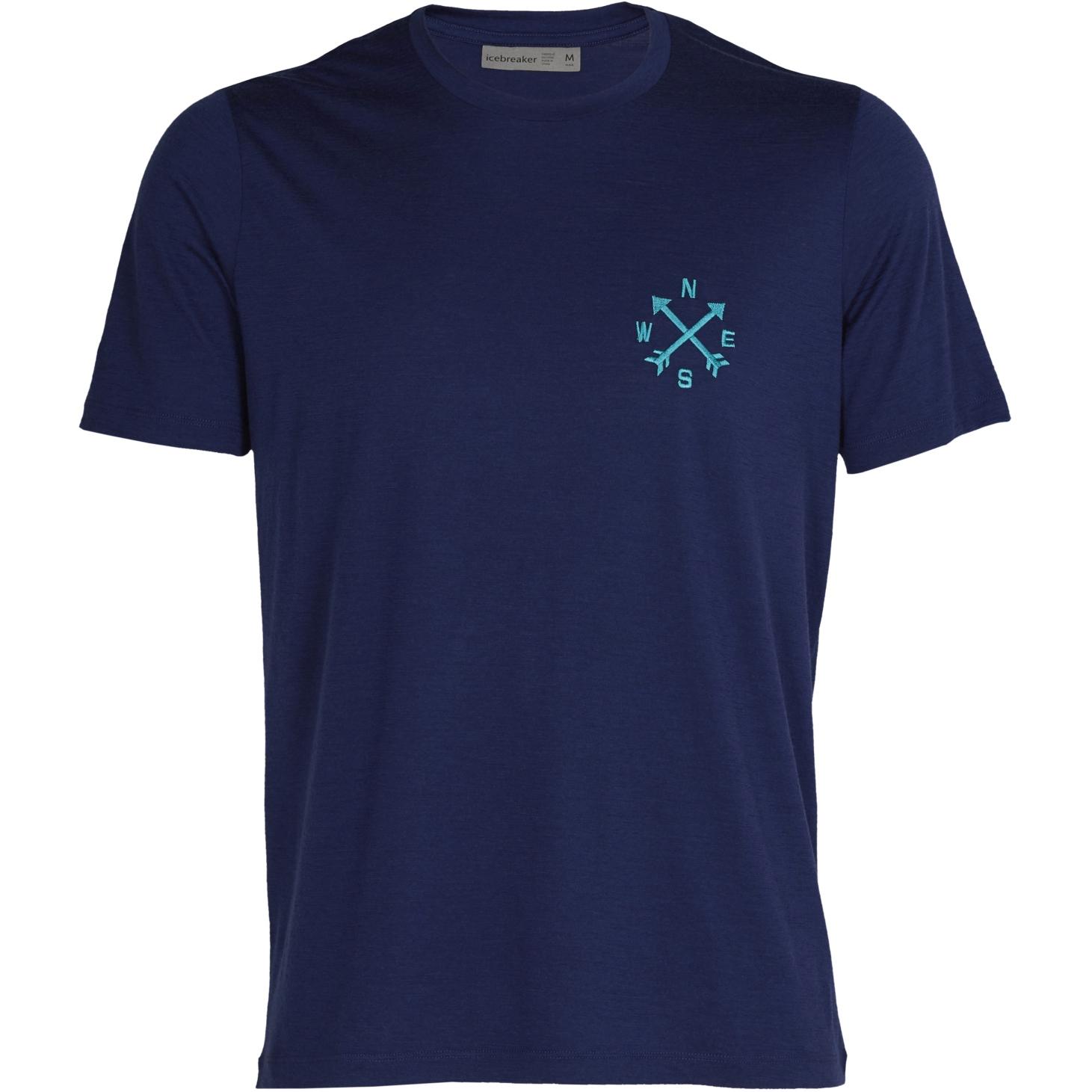 Icebreaker Tech Lite II Nonetwork Herren T-Shirt - Royal Navy