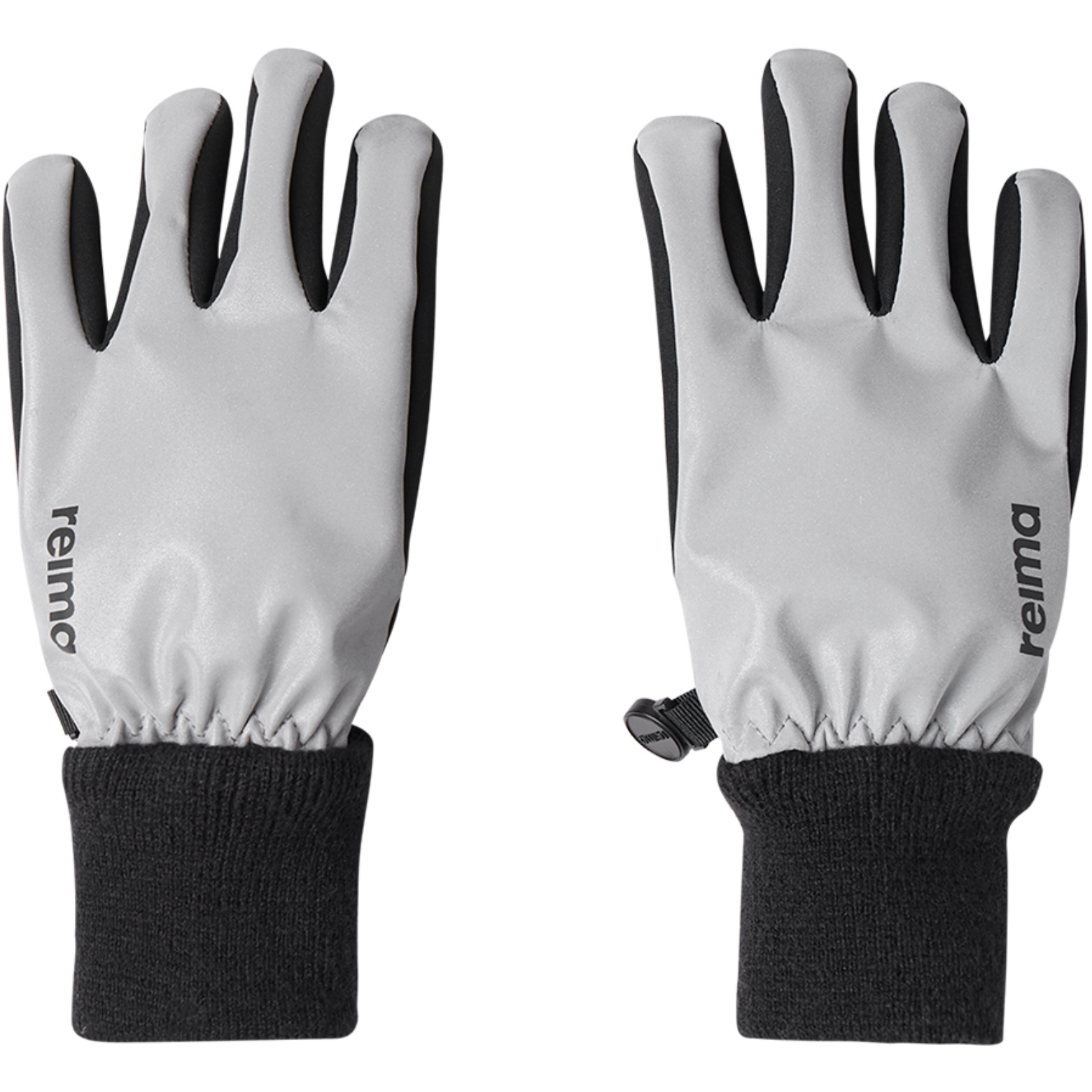 Reima Kinder Softshell Handschuhe Heippa - silver