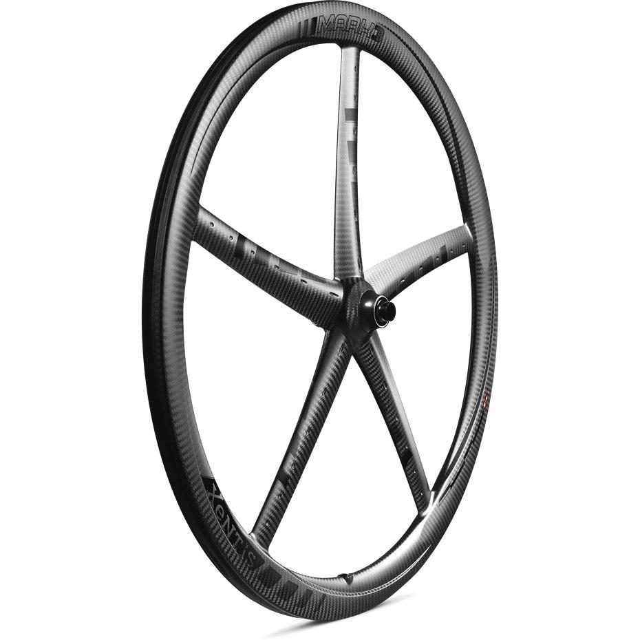 Bild von Xentis Mark 3 Carbon Vorderrad für Schlauchreifen - Centerlock - 12x100mm - matt schwarz