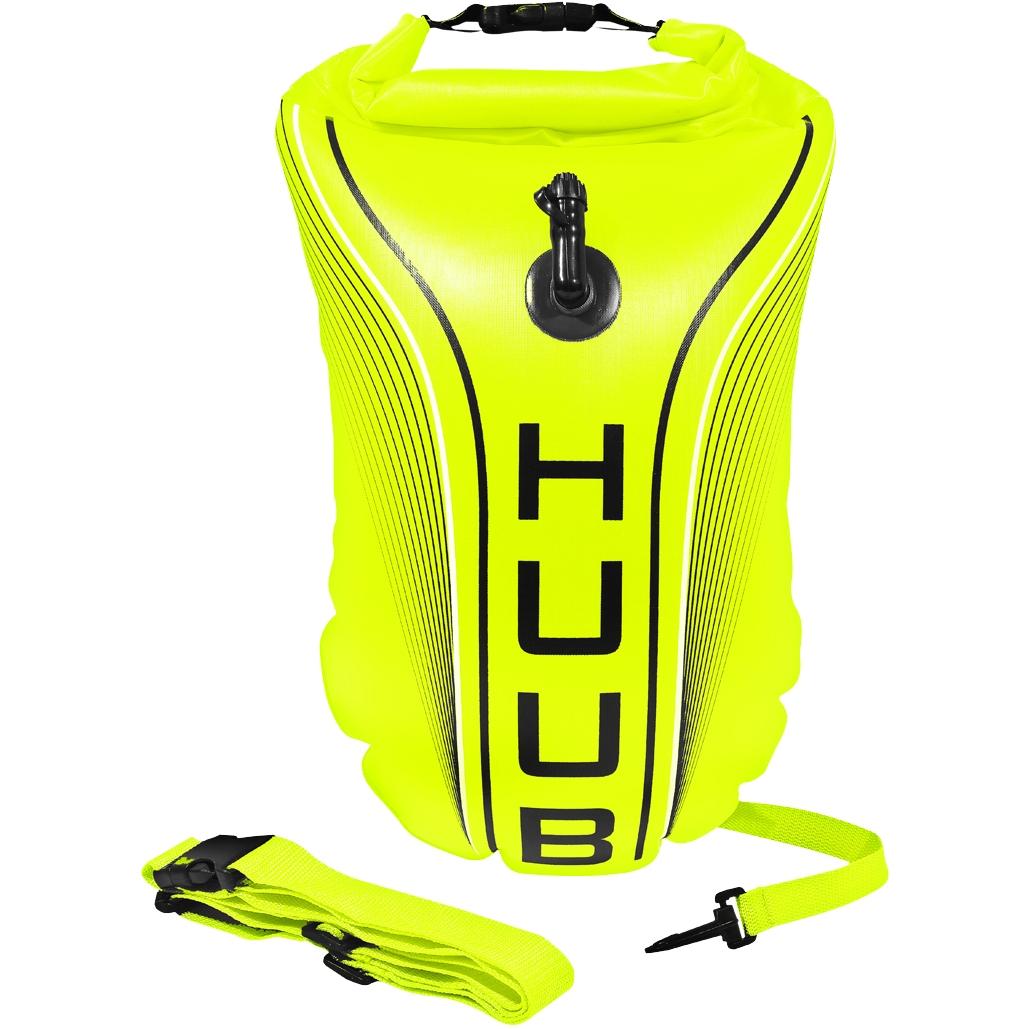 Produktbild von HUUB Design Safety Tow Float - fluo gelb