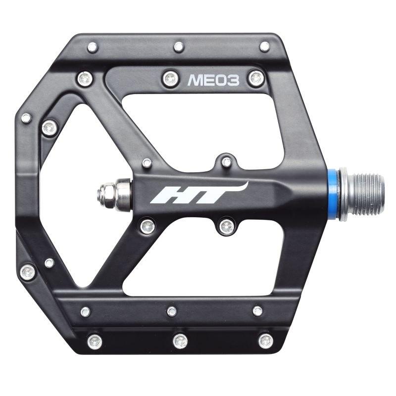 Image of HT ME03 EVO+ Flat Pedal Magnesium - black