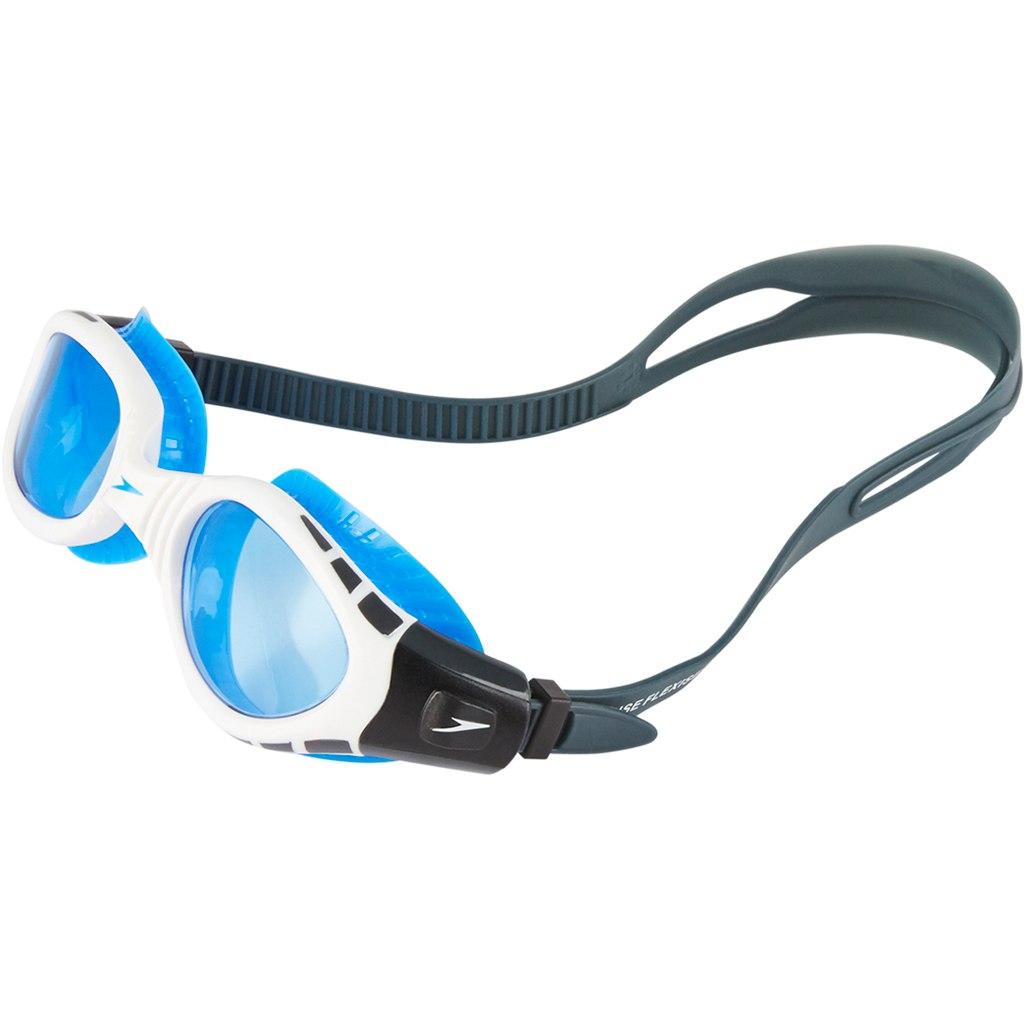 Speedo Futura Biofuse Flexiseal Oxid Grey/White/Blue Gafas de natación