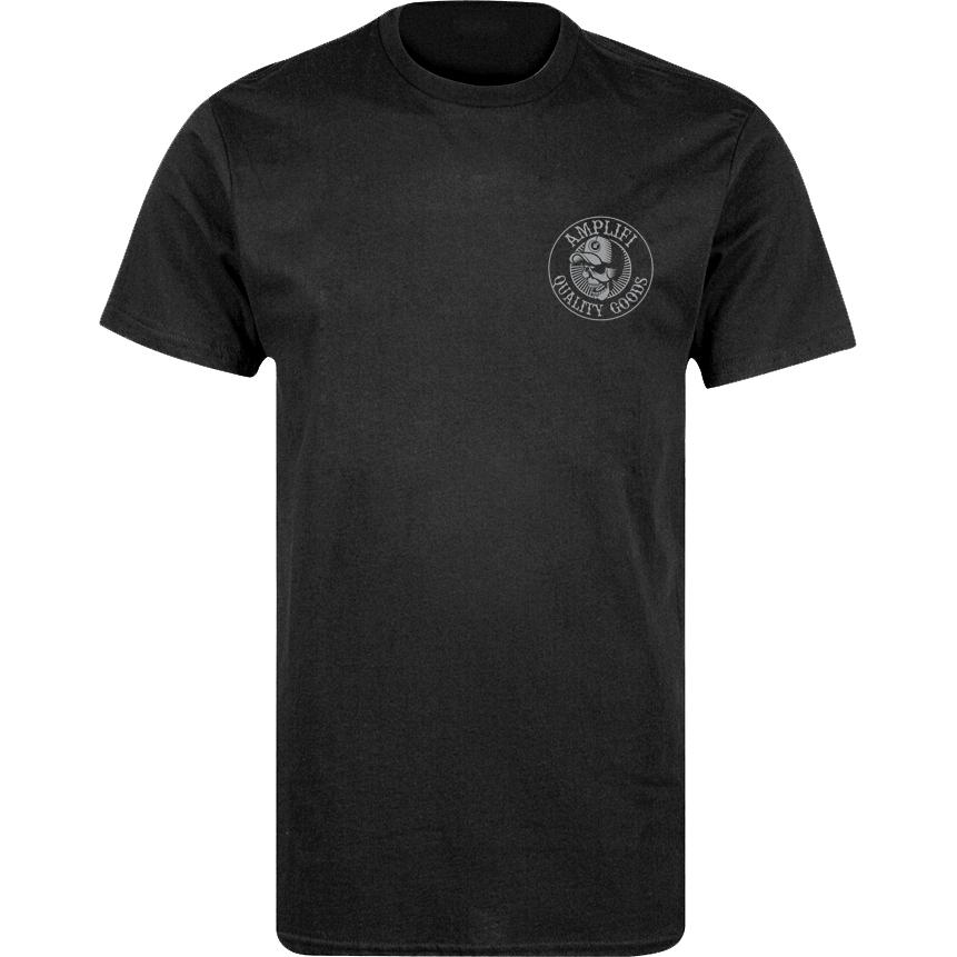 Amplifi Rocker Mono Tee T-Shirt - charcoal