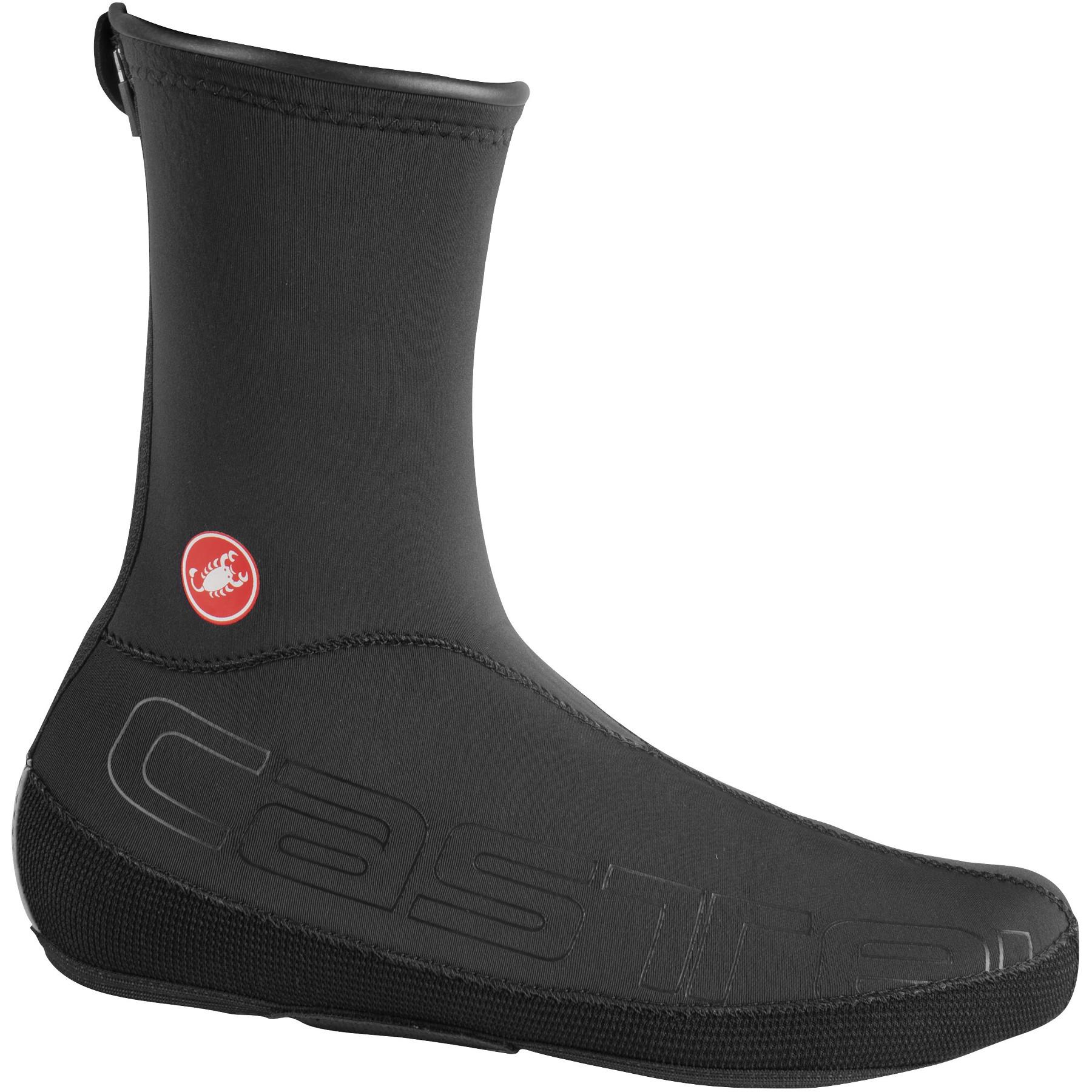Image of Castelli Diluvio UL Shoecover - black/black 110