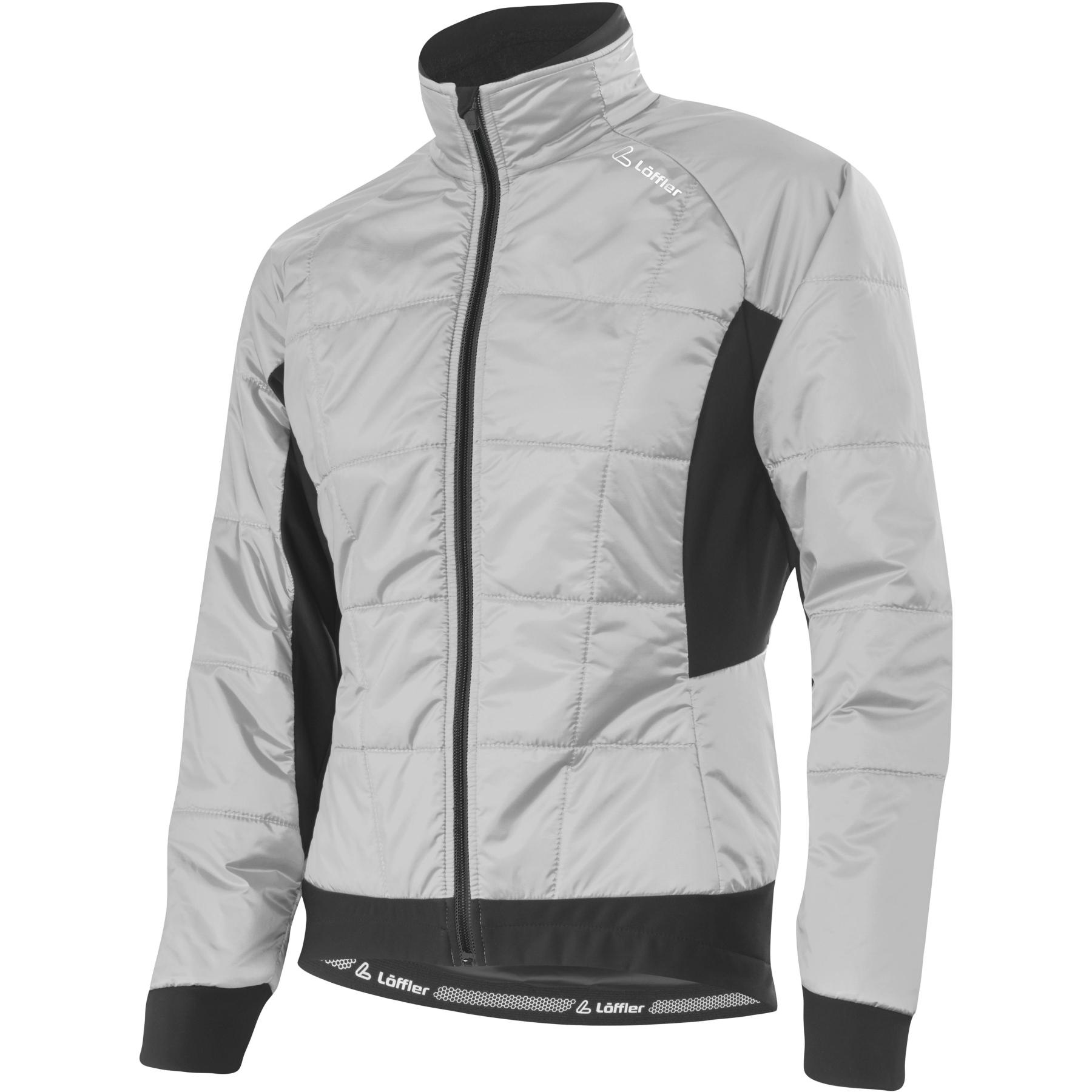 Löffler Bike Iso Jacke Hotbond® PL60 Damen 20603 - silver grey 906