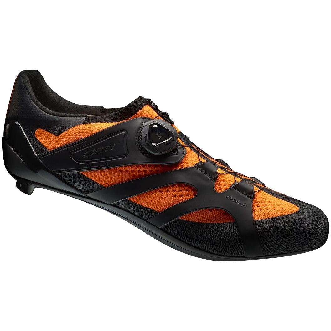 DMT KR2 Road Shoe - orange fluo black
