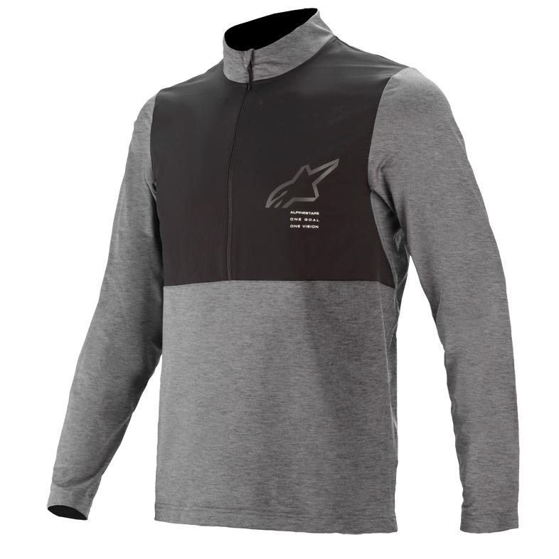 Image of Alpinestars Nevada LS Jersey - melange/gray/black