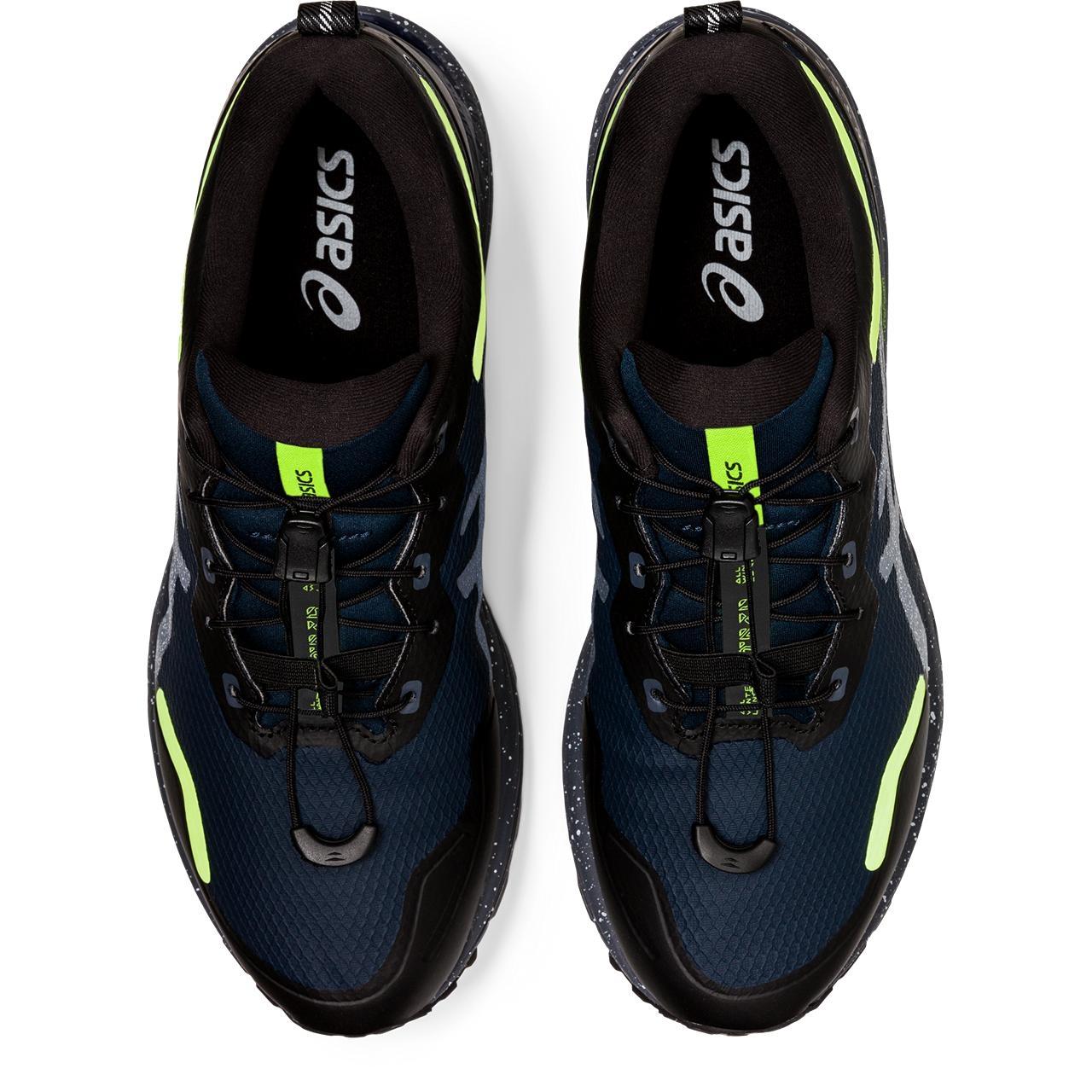 Image of asics GEL-Cumulus 23 AWL Running Shoe - french blue/safety yellow