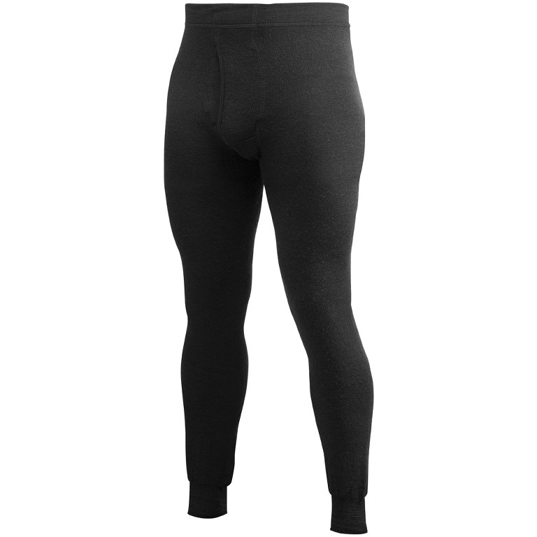 Woolpower Long Johns 200 Underpants with Fly - black