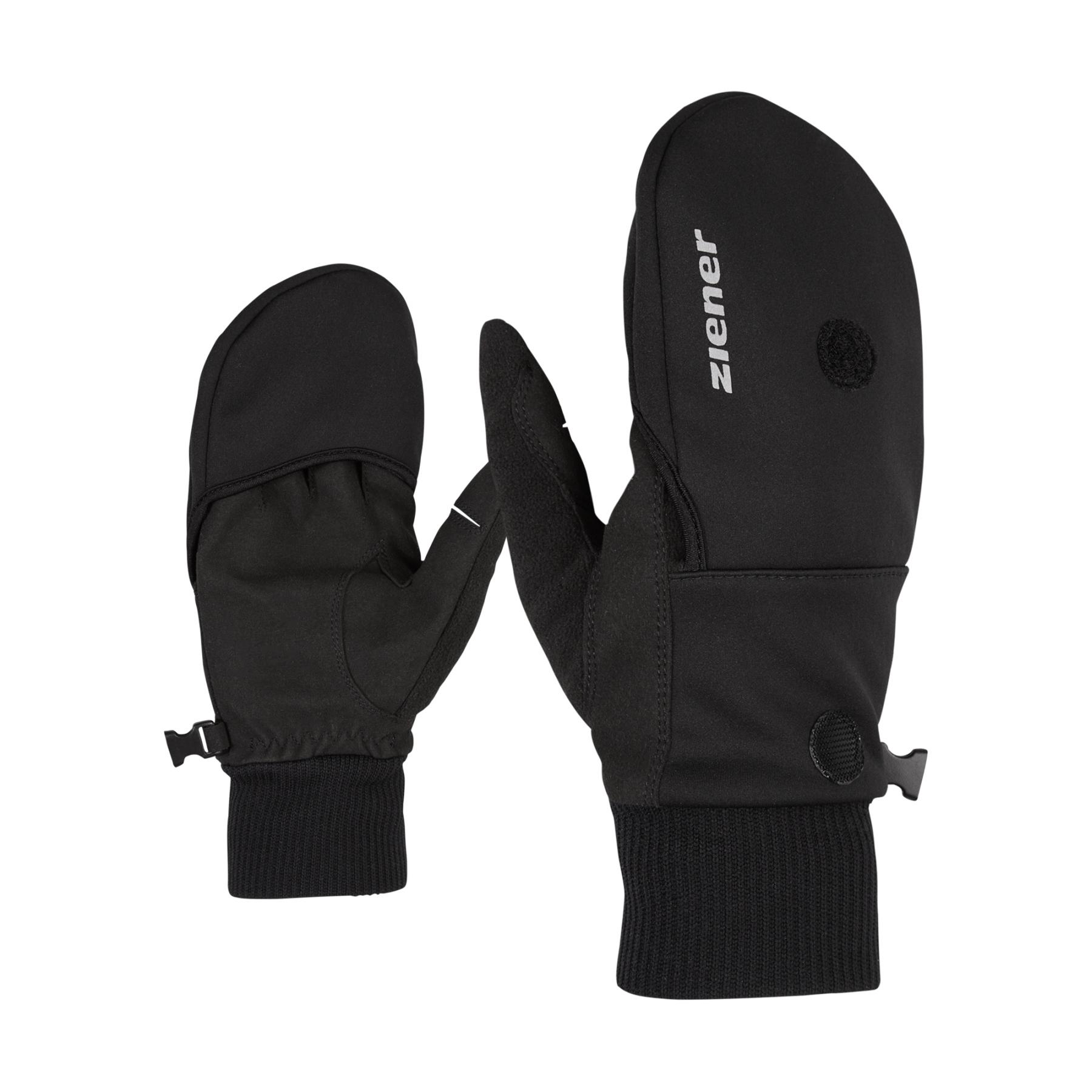 Image of Ziener Imor Multisport Short Finger Gloves - black