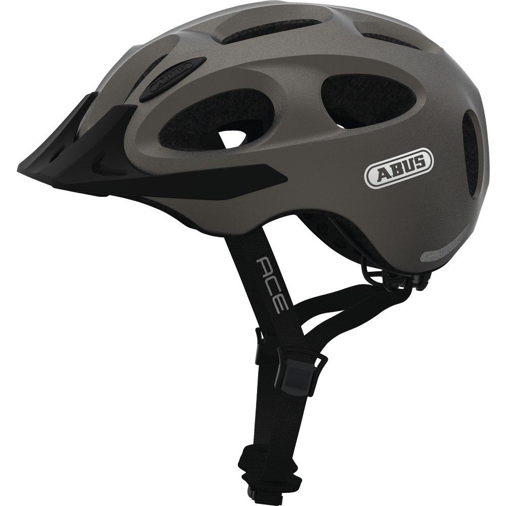 ABUS Youn-I Ace Helmet - metallic silver