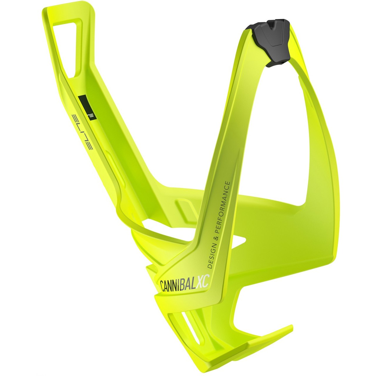 Elite Cannibal XC Bottle Cage - mat fluo yellow