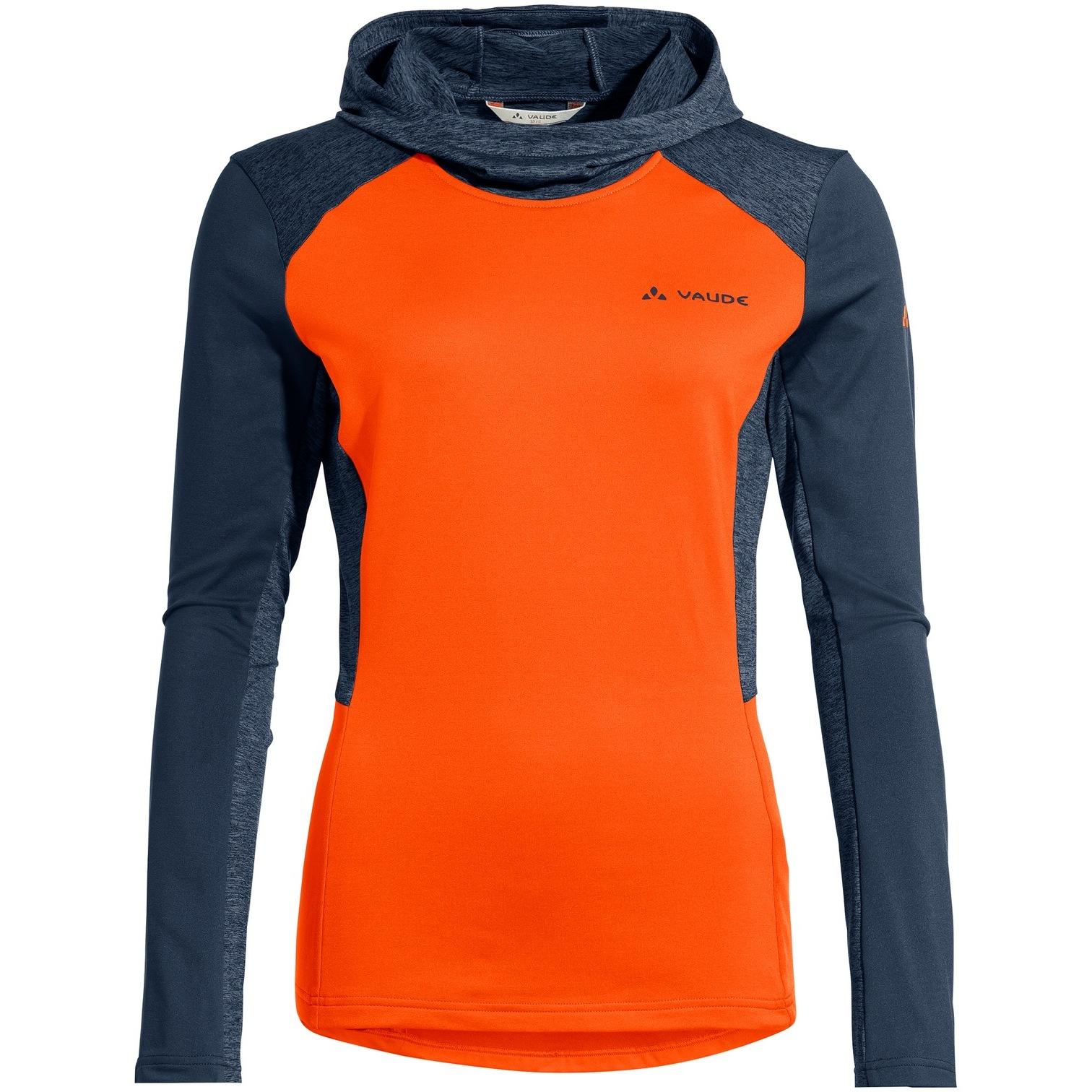Vaude Women's Qimsa LS T-Shirt - neon orange
